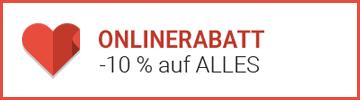 ONLINERABATT -10% auf ALLES