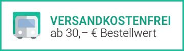 VERSANDKOSTENFREI ab € 30 Bestellwert